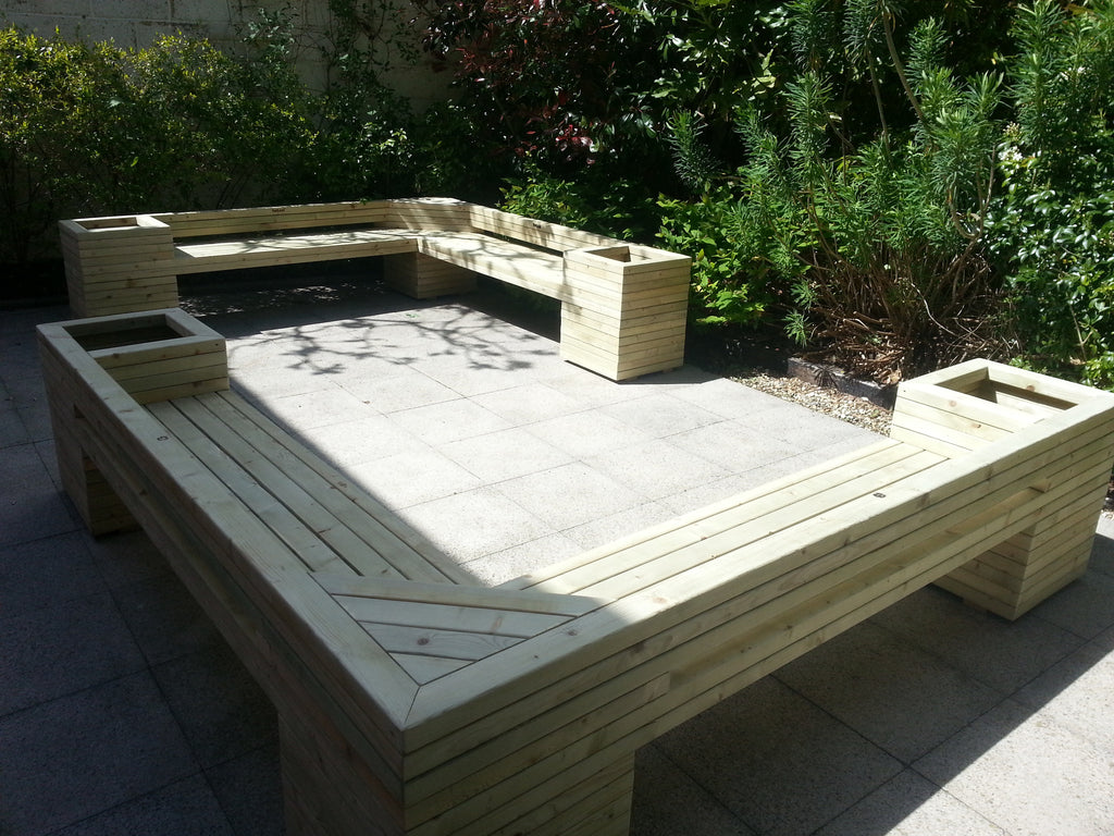 L-Shape Benches