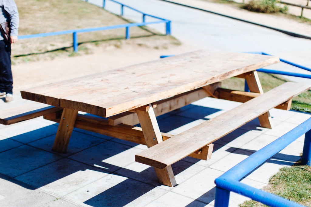 Slab Picnic Table