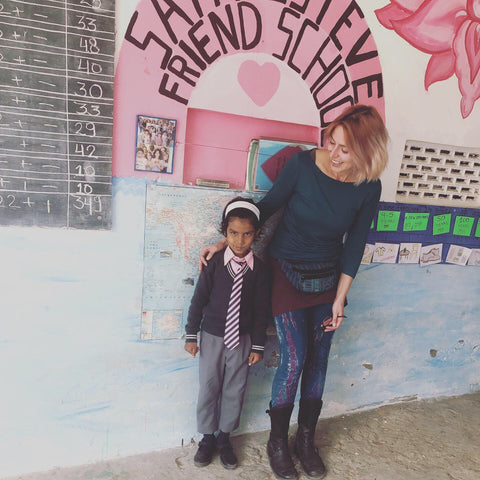 Pupil sponsorship at the Fior di Loto Foundation Charity school