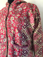 Load image into Gallery viewer, COAT - Recycled Sari winter jacket - PINKS