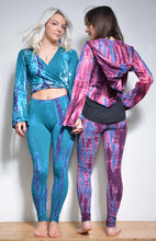 Load image into Gallery viewer, Emma's Emporium tie dye pixie tie top in stretchy cotton lycra, hippie, festival fashion
