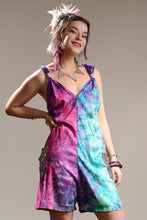 Load image into Gallery viewer, Jumpsuit - Short Tie Dye Playsuit