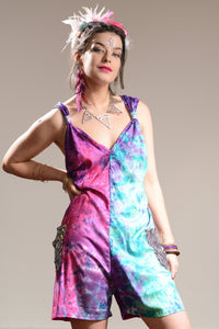 Jumpsuit - Short Tie Dye Playsuit