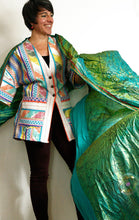 Load image into Gallery viewer, Jacket - Cotton Stripe KIMONO