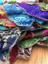 Load image into Gallery viewer, Scarf - Indian Recycled Sari Silk