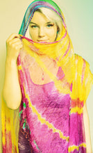 Load image into Gallery viewer, Scarf - Tie Dye Chiffon