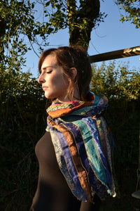 Scarf - Indian Recycled Sari Silk