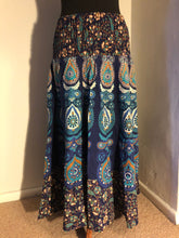 Load image into Gallery viewer, Peacock MAXI SKIRT