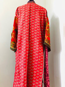 Sari Kimono Dressing Gown - Option F