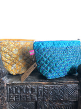 Load image into Gallery viewer, Wash Bag - Recycled Sari