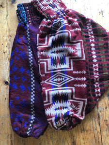 Children's Trousers - Warm Fleecy Harems