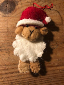 Decorations - Festive Little Sheep