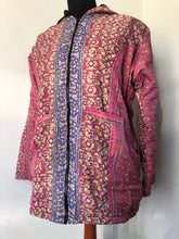 Load image into Gallery viewer, Emma's Emporium recycled sari coat