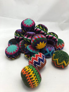 Hand Woven Cotton Juggling Balls - Set of 3