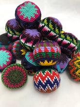 Load image into Gallery viewer, Hand Woven Cotton Juggling Balls - Set of 3