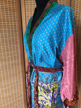 Load image into Gallery viewer, Kimono - Recycled Sari, Option L