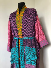 Load image into Gallery viewer, Kimono - Recycled Sari, Option C
