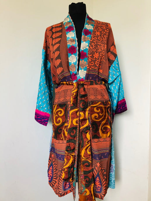 Emma's Emporium Kimono Gown, Loungewear. Ethical , Alternative, Festival & Boho Fashion.