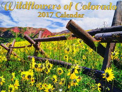 2017 Wildflowers of Colorado Scenic Photo Calendar