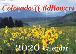 2020 Wildflowers of Colorado Photo Calendar (Buy 2 and Save!)