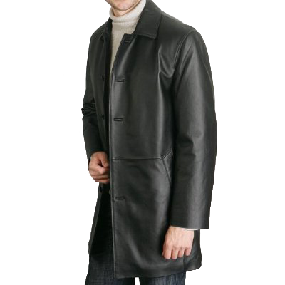 MARC BUCHANAN Mens Leather Car Coat Jacket Belted Size XL Black Insulated. $ Buy It Now. or Best Offer. Free Shipping. Length (from collar seam to jacket bottom) Hem (bottom from one side to another) Shoulder (seam to seam) Sleeve Length (from cuff to shoulder seam)