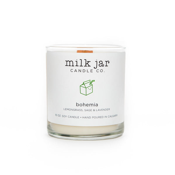 Milk Jar Co, Bohemia - Lemongrass, Lavender & Sage, 10oz
