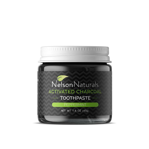 Nelson Naturals, Activated Charcoal Whitening Toothpaste, 93G