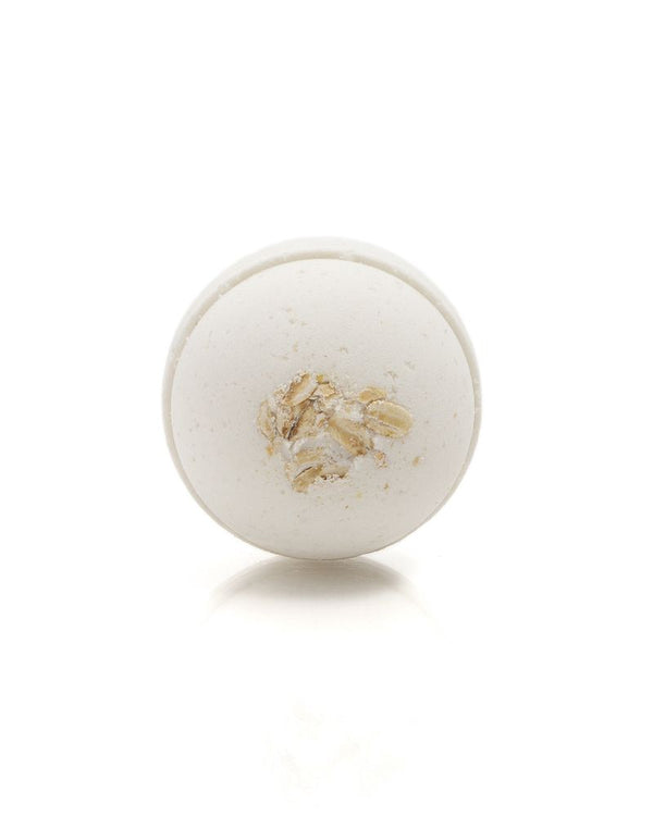 Saponaria Honey, Milk & Oat Bath Bomb, 175g