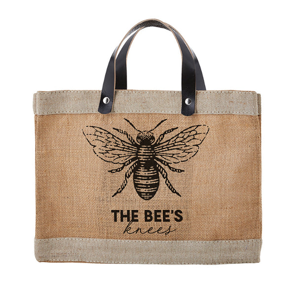 Bees Knees Mini Market Tote