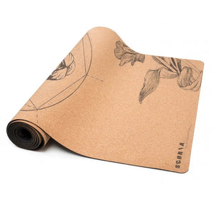 Scoria Mountain Lion Cork Yoga Mat | 4.5MM