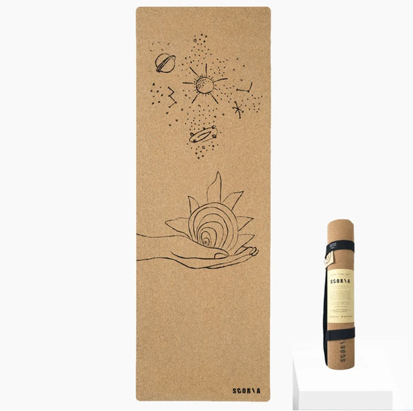 Scoria Universe Cork Yoga Mat | 4.5MM