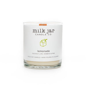 Milk Jar Co, Lemonade - Coconut, Lime, Verbena & Pine, 10oz