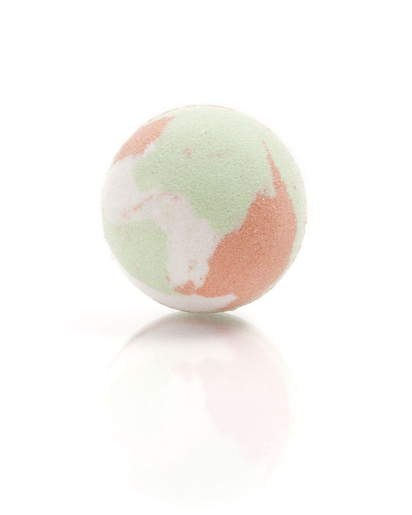 Saponaria Melon & Berries Bath Bomb, 175g