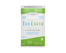 Platinum Tru Earth ,Laundry Strips, 32 loads