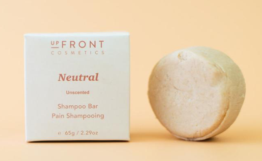 upFront Cosmetics Shampoo Bar - Neutral/Unscented
