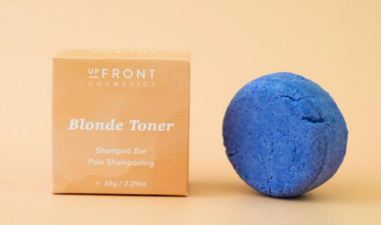 upFront Cosmetics Shampoo Bar - Enlightening - For Blonde & Silver Hair