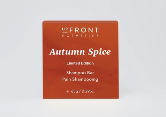 upFront Cosmetics Shampoo Bar - Autumn Spice Limited Edition