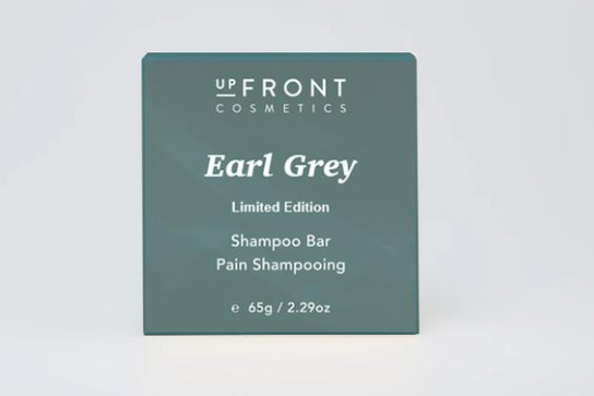 upFront Cosmetics Shampoo Bar - Earl Grey - Limited Edition