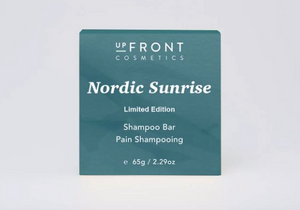 upFront Cosmetics Shampoo Bar - Nordic Sunrise - Limited Edition