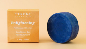 upFront Cosmetics Conditioner Bar - Enlightening - for Blondes & Silver hair
