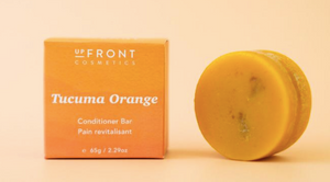 upFront Cosmetics Conditioner Bar - Tucuma Orange - Enlivening