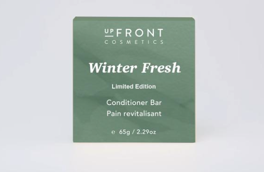 upFront Cosmetics Conditioner Bar - Winter Fresh  Limited Edition
