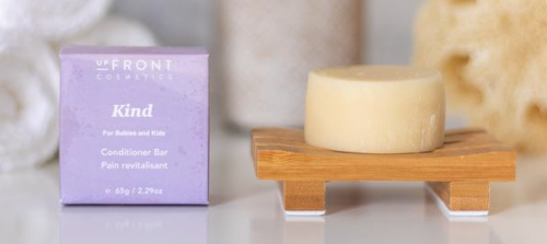 upFront Cosmetics Conditioner Bar - Kind - For Babies & Kids