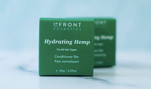 upFront Cosmetics Conditioner Bar - Hydrating Hemp, for all hair types