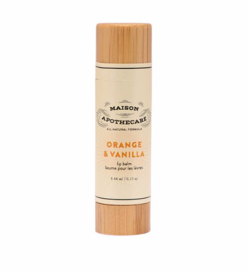 Maison Apothecare - Lip Balm -  Orange & Vanilla 4.4ml