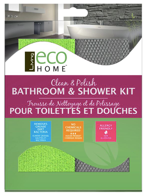 Eco Home — Clean & Polish Bathroom & Shower Kit (2-Pack)