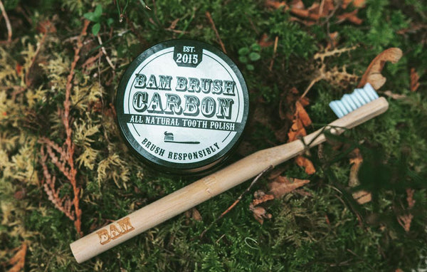 Bam Brush Carbon Toothpaste Polish
