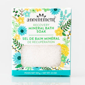 Anointment, RECOVERY - Mineral Bath Soak, 100g
