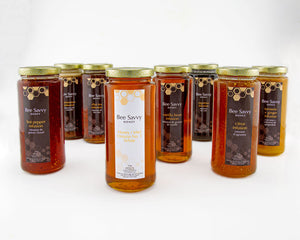 Bee Savvy Infused & Natural Honey