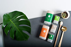 Jusu Natural Deodorant, 2 Sizes & 3 Varieties